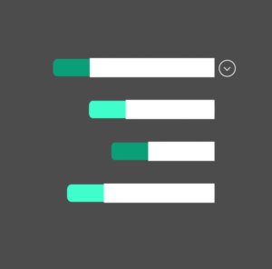 Animated Stacked Bar Chart GIF
