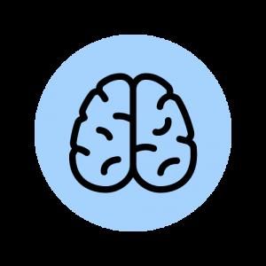Brain Line Icon Animation