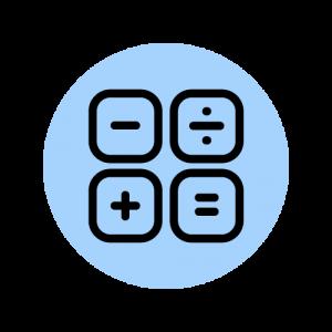 Math Line Icon